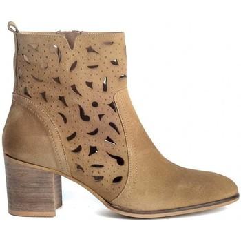 Sapatos Mulher Botins Funny Lola 3650 Castanho