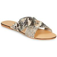 Sapatos Mulher Chinelos Jonak JASMINE Castanho