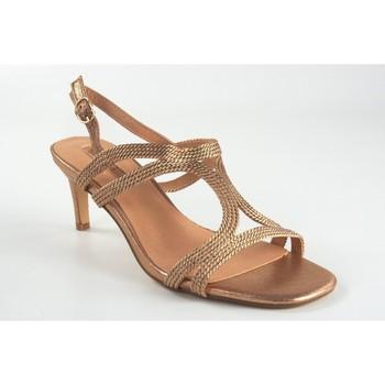 Sapatos Mulher Sandálias Bienve Senhora da cerimônia  1sl-0108 salmão Prata