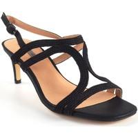 Sapatos Mulher Sandálias Bienve Senhora da cerimônia  1sl-0108 preto Noir