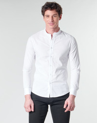 Textil Homem Camisas mangas comprida Casual Attitude MASS Branco