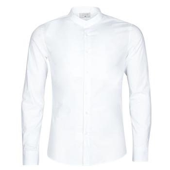 Textil Homem Camisas mangas comprida Yurban MASS Branco