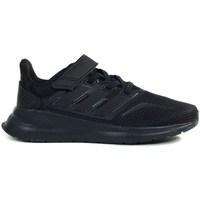 Sapatos Criança Sapatilhas de corrida adidas Originals Runfalcon C Preto