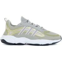 Sapatos Criança Sapatilhas de corrida adidas Originals Haiwee J Verde,Amarelo