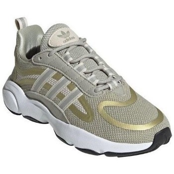 Sapatos Criança Sapatilhas de corrida adidas Originals Haiwee J Verde, Amarelo