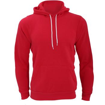 Textil Homem Sweats Bella + Canvas CA3719 Vermelho