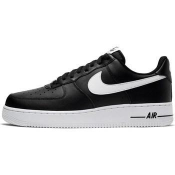 Sapatos Homem Sapatilhas Nike Air Force 107 AN20 Preto