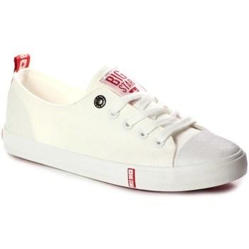 Sapatos Mulher Sapatilhas Big Star FF274087 Creme
