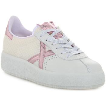 Sapatos Mulher Sapatilhas Munich 037 BARRU SKY Bianco