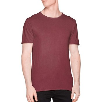 Textil Homem T-Shirt mangas curtas Only & Sons   Vermelho