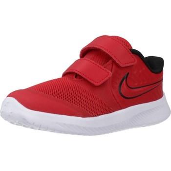 Sapatos Rapaz Sapatilhas de corrida Nike STAR RUNNER 2 (TDV) Vermelho