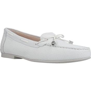 Sapatos Mulher Mocassins Stonefly CAPRI III 1 SNAKE PRINT Branco