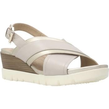 Sapatos Mulher Sandálias Geox D MARYKARMEN P. B Cinza