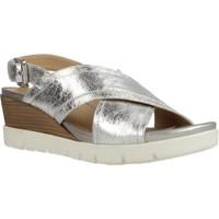 Sapatos Mulher Sandálias Geox D MARYKARMEN P. B Silver