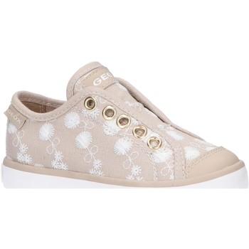 Sapatos Rapariga Sapatilhas Geox J0204C 000DS J CIAK Beige
