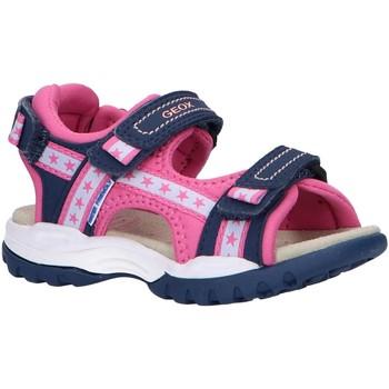 Sapatos Rapariga Sandálias desportivas Geox J020WA 05015 J BOREALIS Azul
