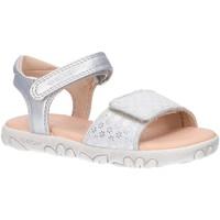 Sapatos Rapariga Sandálias desportivas Geox J028ZA 007NF J S HAITI Plateado