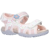 Sapatos Rapariga Sandálias desportivas Geox J92D9C 01404 J S ROXANNE C1Z8W WHITE Blanco
