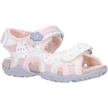 Sapatos Rapariga Sandálias desportivas Geox J92D9C 01404 J S ROXANNE Blanco