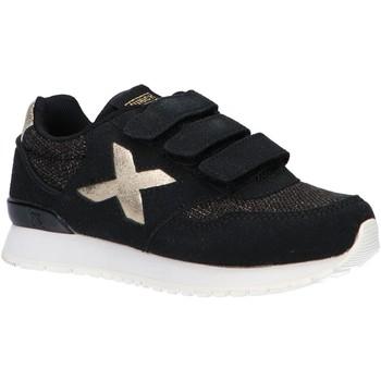 Sapatos Rapaz Sapatilhas Munich 1695033 DASH KID VCO NEGRO Negro