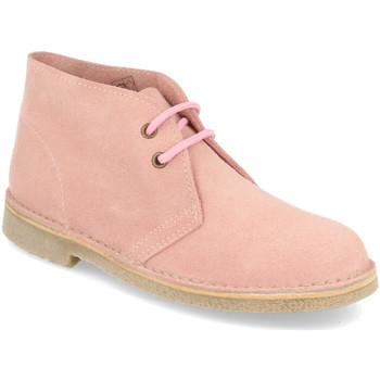 Sapatos Mulher Botas baixas Shoes&blues DB01 Rosa