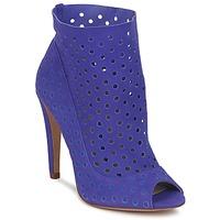 Sapatos Mulher Botas baixas Bourne RITA Azul