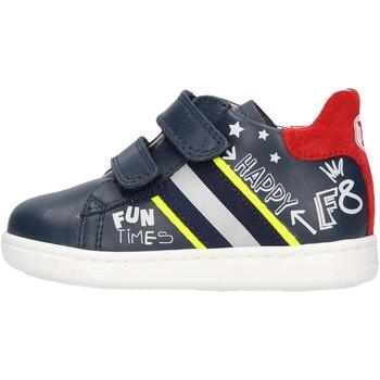 Sapatos Rapaz Sapatilhas Falcotto - Polacchino blu/rosso ATLEY-1C23 BLU