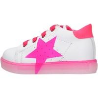 Sapatos Rapaz Sapatilhas Falcotto - Polacchino bianco/rosa VENUS-1N19 BIANCO