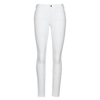 Textil Mulher Calças de ganga slim Vero Moda VMSEVEN Branco
