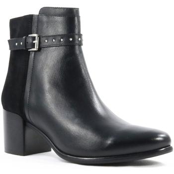 Sapatos Mulher Botins Parodi Shoes 79/1654.NERO Black