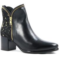 Sapatos Mulher Botins Parodi Shoes 79/1602.NERO Black