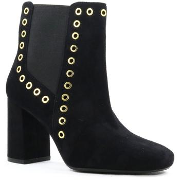Sapatos Mulher Botins Parodi Shoes 79/1664.NERO Black