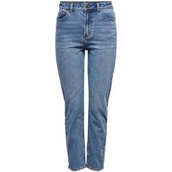 Textil Calças de ganga slim Only ONLEMILY LIFE HW ST ANKLE MAE0012 NOOS azul