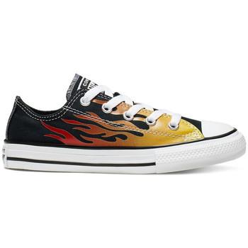 Sapatos Criança Sapatilhas Converse Chuck taylor all star ox Preto