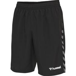 Textil Homem Shorts / Bermudas Hummel Short  Authentic Training noir/blanc