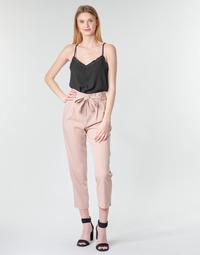Textil Mulher Calças Betty London MOUDI Rosa