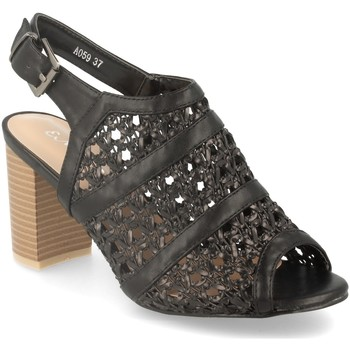 Sapatos Mulher Sandálias Encor A059 Negro