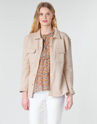 Textil Mulher Casacos/Blazers Betty London MOUCHE Bege