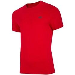 Textil Homem T-Shirt mangas curtas 4F TSM003 Vermelho