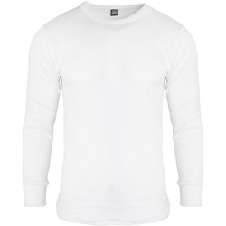 Textil Homem T-shirt mangas compridas Floso  Branco