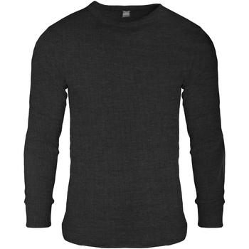 Textil Homem Sweats Floso  Carvão vegetal