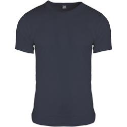 Textil Homem T-Shirt mangas curtas Floso  Carvão vegetal