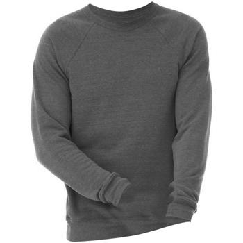 Textil Sweats Bella + Canvas CA3901 Triblend cinzento