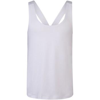 Textil Rapariga Tops sem mangas Skinni Fit SM241 Branco