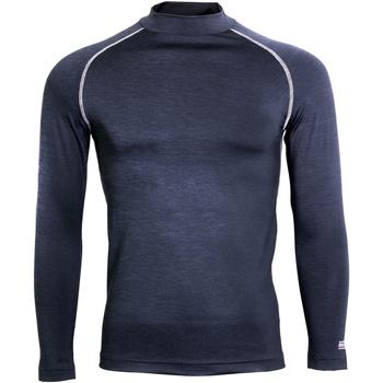 Textil Homem T-shirt mangas compridas Rhino RH001 Marinha Heather