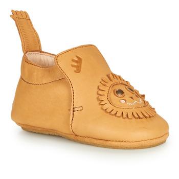 Sapatos Criança Chinelos Achile BLUBLU LION Conhaque