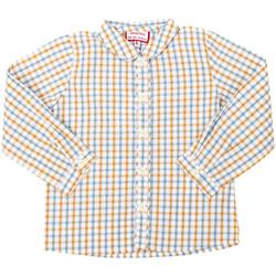 Textil Rapaz Camisas mangas comprida Neck And Neck Camisa manga larga Neck & Neck Branco
