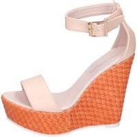 Sapatos Mulher Sandálias Solo Soprani Sandálias BN641 Bege