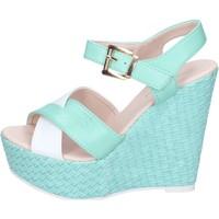 Sapatos Mulher Sandálias Solo Soprani Sandálias BN643 verde