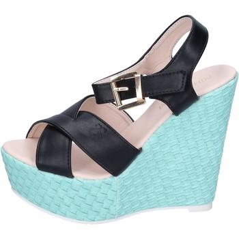 Sapatos Mulher Sandálias Solo Soprani Sandálias BN644 Preto